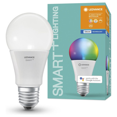 SMART& Bluetooth LED Leuchtmittel E27 9W 806lm RGBW