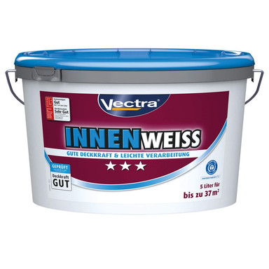 Wandfarbe Vectra Innenweiss matt