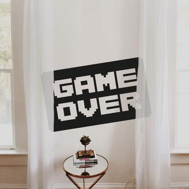 Wandtattoo Game Over