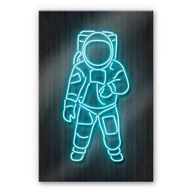 Acrylglasbild Mielu - Astronaut