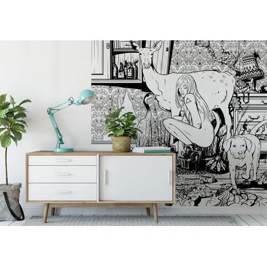 Fototapete Drawstore - In the Livingroom