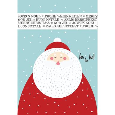 Gutschein Weihnachten - Weihnachtsmann Ho Ho Ho