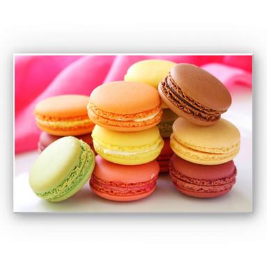 Hartschaumbild Sweet Macarons