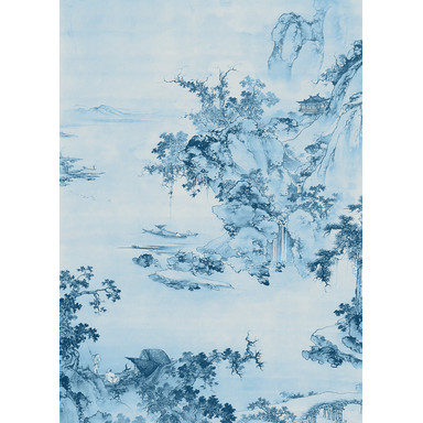 Fototapete Blue China
