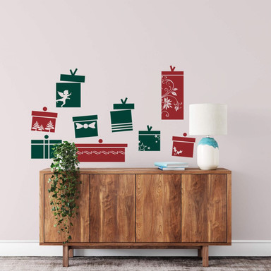 Wandtattoo Geschenke Set (2-farbig)