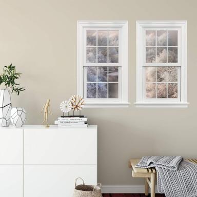 3D Wandtattoo Doppelfenster Bela - Winterlandschaft