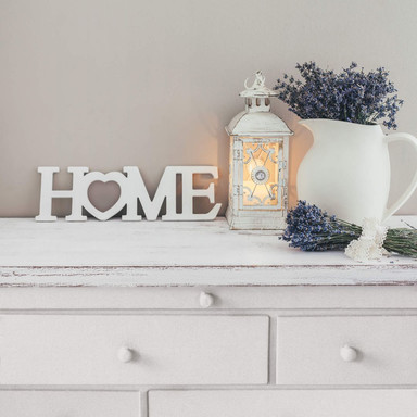 Dekobuchstaben 3D HOME 4 - Herz
