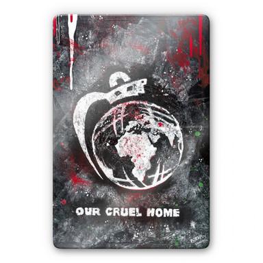 Glasbild Buttafly - Our Cruel World