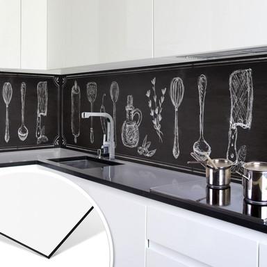 Küchenrückwand - Alu-Dibond - Rustic Kitchen