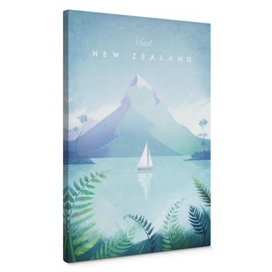 Leinwandbild Rivers - Neuseeland