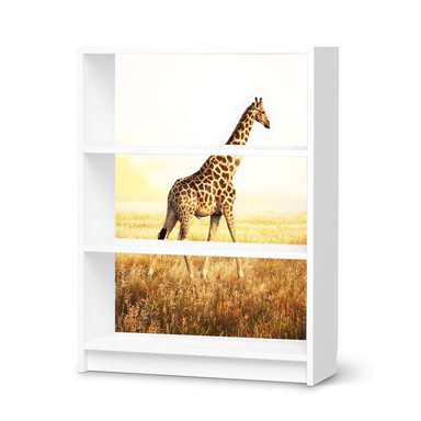 Möbelfolie IKEA Billy Regal 3 Fächer - Savanna Giraffe
