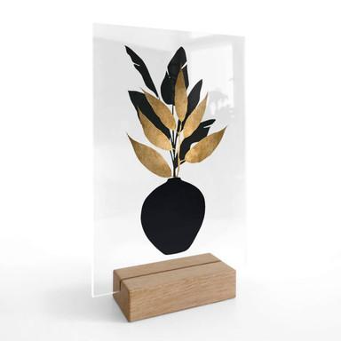Tischaufsteller Kubistika - Bouquet No 5