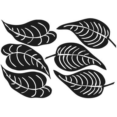 Wandtattoo Blätter-Set 10