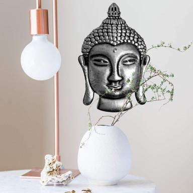 Wandtattoo Metallic Buddha