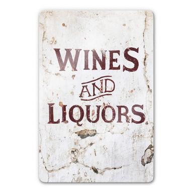 Glasbild Hugonnard - Wines and Liquors
