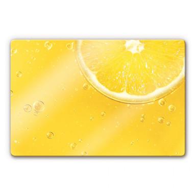 Glasbild Lemon Squeezy