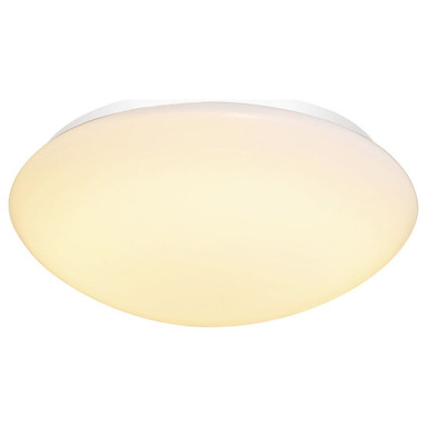 LED Deckenleuchte Lipsy 40 Dome in Weiss 18W 2000lm IP44