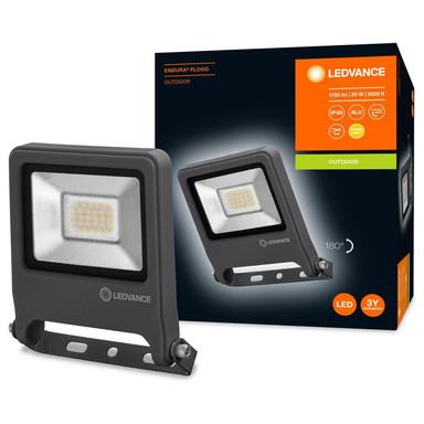 LED Flutlicht Endura in Dunkelgrau 20W 1700lm IP65 3000K