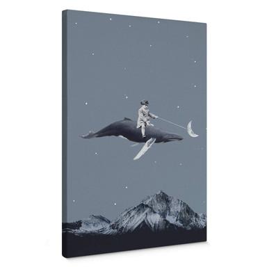 Leinwandbild Léon - Aim for the moon