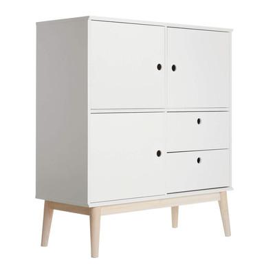 Möbelfolie - Uni Weiss