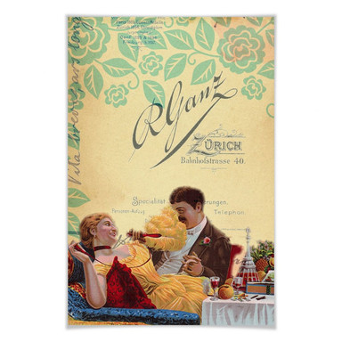 Poster Vintage Couple