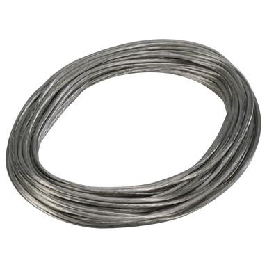 Tenseo Seilsystem, Niedervolt-Seil, 6 mm², chrom, 20 m