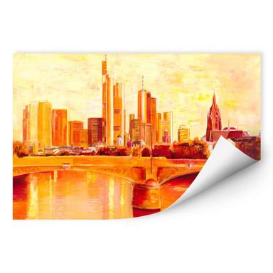 Wallprint Schüssler - Skyline Frankfurt