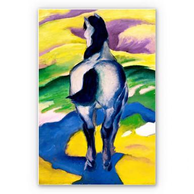 Wandbild Marc - Blaues Pferd II