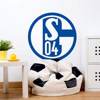 Wandsticker Schalke 04 Logo