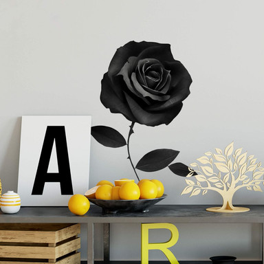 Wandtattoo Ireland - Fabric Rose