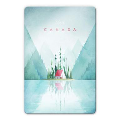 Glasbild Rivers - Kanada