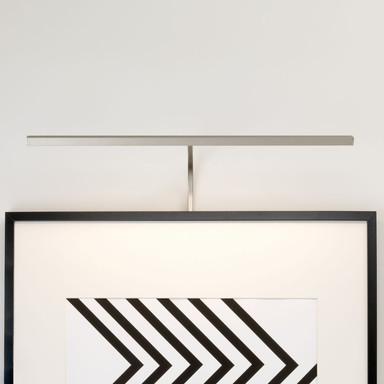 LED Bilderleuchte Mondrian in Nickel-Matt 8.4W 219lm 600mm