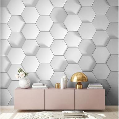 Livingwalls Fototapete Designwalls Honeycomb in 3D Optik - Bild 1