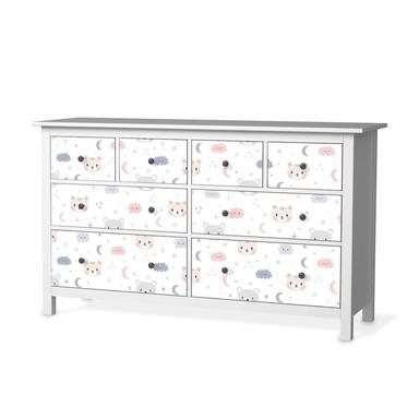 Möbelfolie IKEA Hemnes Kommode 8 Schubladen - Sweet Dreams