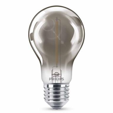 Philips LED Smoky ersetzt 15W, E27. warmweiss, 2000 Kelvin, 136 Lumen, Dekolampe, nicht dimmbar Energieklasse A&