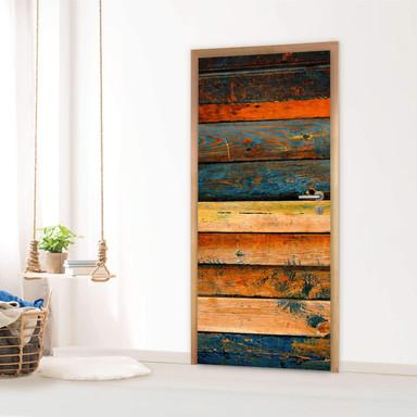 Türfolie - Wooden