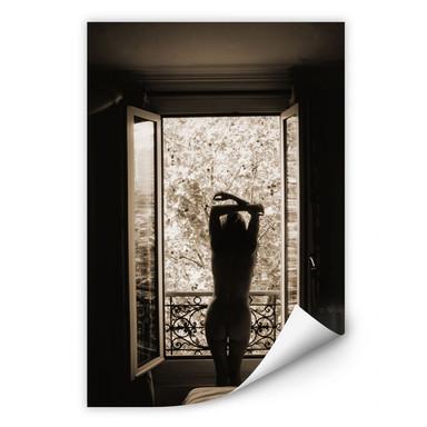 Wallprint Der Blick aus dem Fenster!