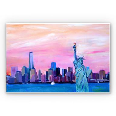 Wandbild Bleichner - Manhattan Skyline