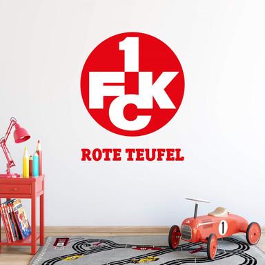 Wandsticker 1.FC Kaiserslautern Rote Teufel