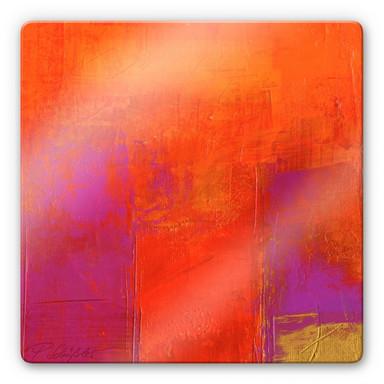 Glasbild Schüssler - Magenta-Energy