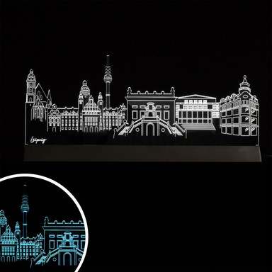 LED Skyline Leipzig