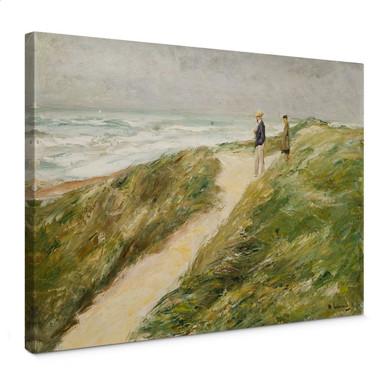 Leinwandbild Liebermann - Am Strand von Katwijk