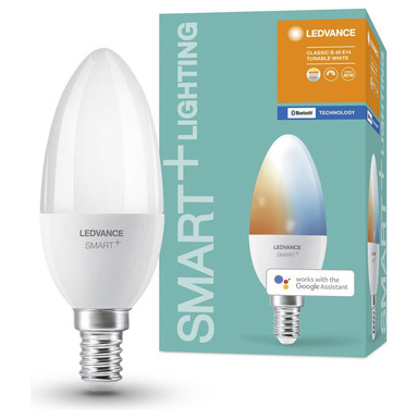SMART& Bluetooth LED Leuchtmittel E14 B38 5W 470lm 2700 bis 6500K
