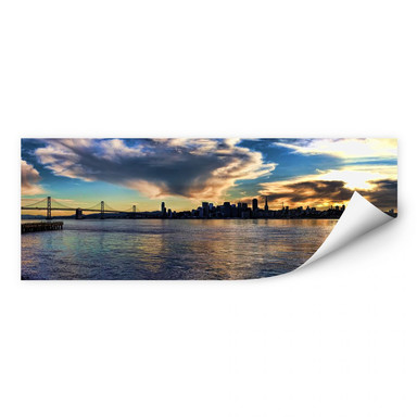 Wallprint San Francisco Skyline - Panorama