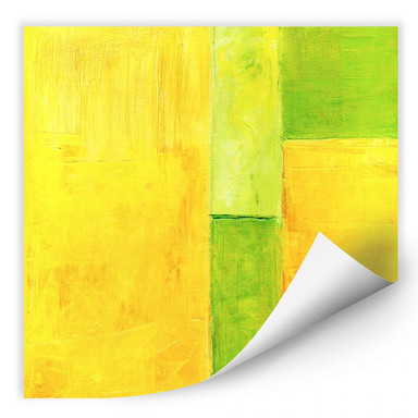Wallprint Schüssler - Spring Composition III