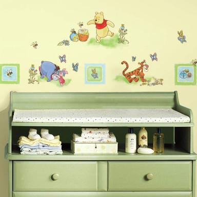 Wandsticker-Set Winnie Puuh - Sticker für Kleinkinder - Bild 1
