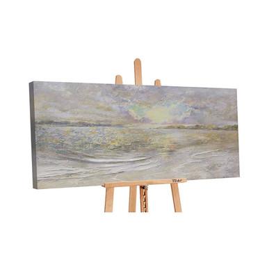 Acryl Gemälde handgemalt Meer-Dämmerung 140x70cm - Bild 1