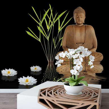 Fototapete Zen Buddha - 240x260cm - Bild 1