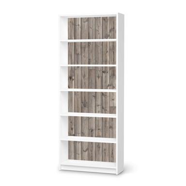 Klebefolie IKEA Billy Regal 6 Fächer - Dark washed- Bild 1