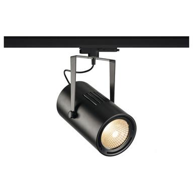 LED 3-Phasenschienen Spot 47W 4800lm 3000K 40° in Schwarz